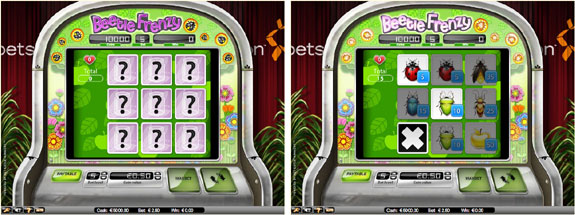 beetle frenzy bug collector 2 3 Reel Slots