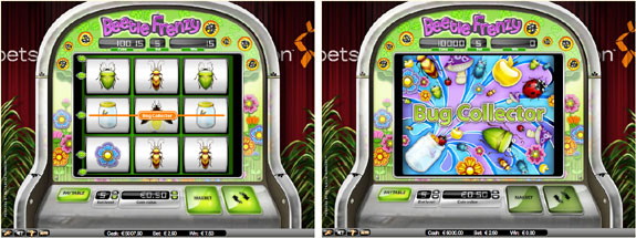 beetle frenzy bug collector 3 Reel Slots